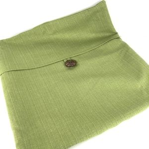 Other - Set of 2 Apple Green Throw Pillow Covers